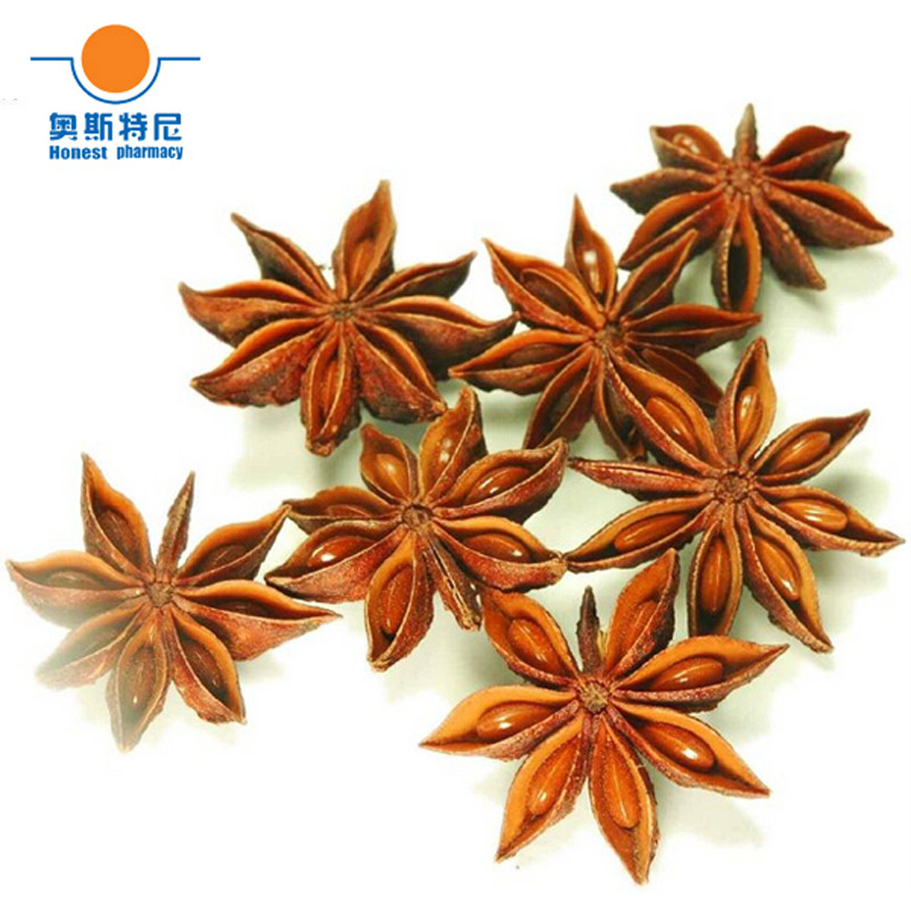 100g Free Shipping Dried Natural Star Anise&Chinese Anise