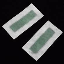 5 шт Удаление волос двухсторонние полоски бумаги с холодным