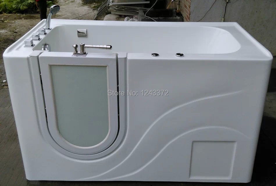 100% pure acrylic high quality walk in bathtub walk in tub ...