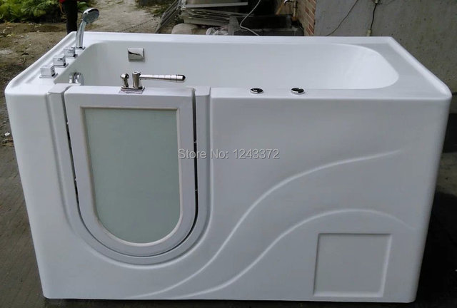 100% Pure Acrylic High Quality Walk In Bathtub Walk In Tub Handicapped  Bathtub For Old