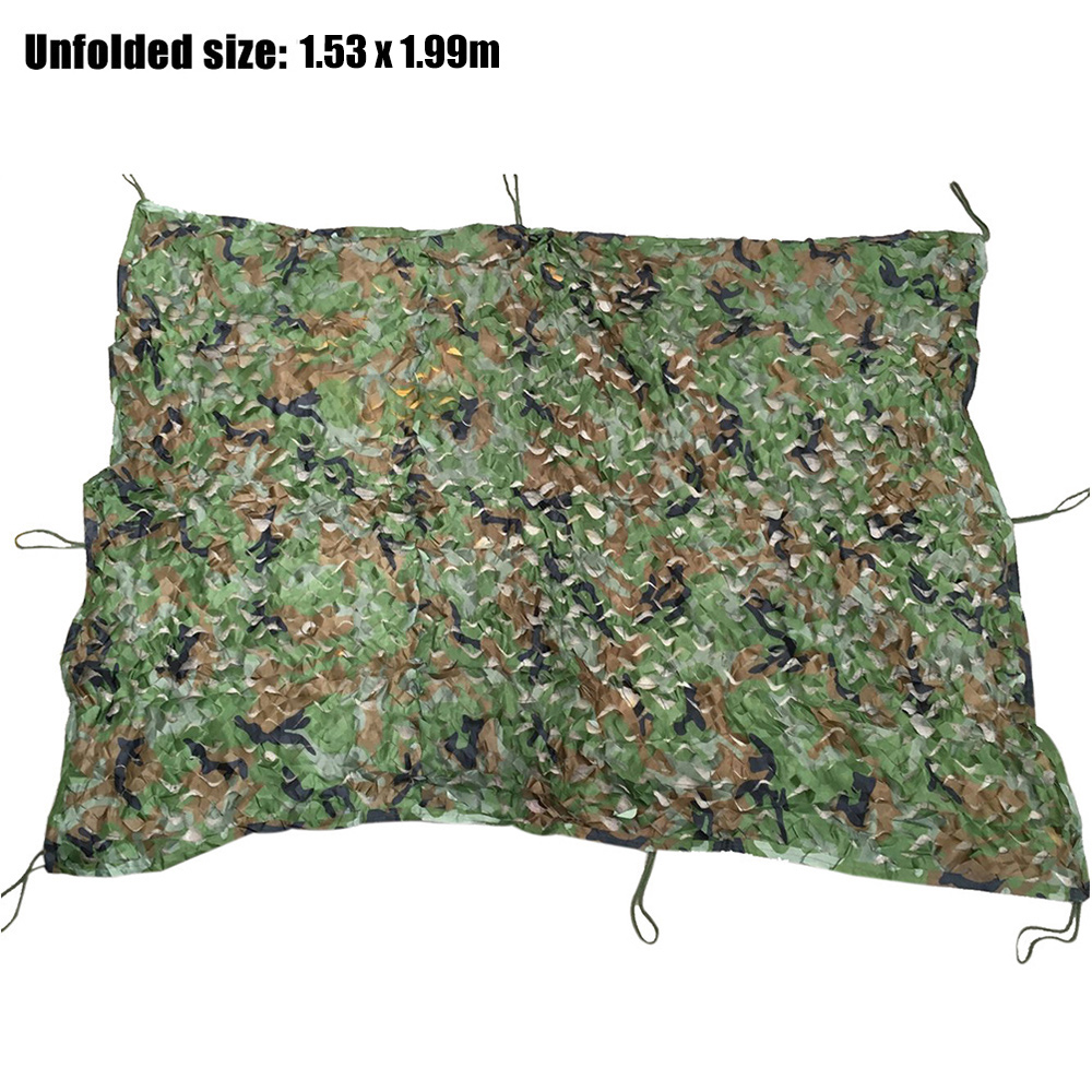 Woodlands Campsite At The Formula 1: 1.53 X 1.99m Durable Woodland Military Hunting Camping