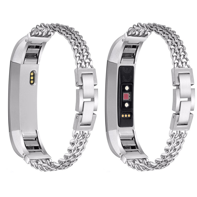 2017 Hot Sale Fashion High Quality Stainless Steel Watch Band Wrist strap For Fitbit Alta HR/Fitbit Alta S New Strap lnop nylon rope survival strap for fitbit alta alta hr replacement band bracelet wristband watchband strap for fitbit alta