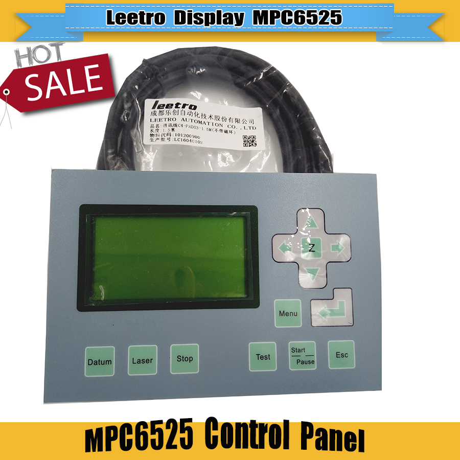 Leetro MPC6515 Control Panel For Laser Engraver Machine Motion Control System