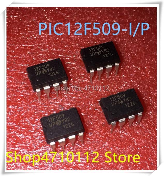 IC NEW 10PCS/LOT PIC12F509-I/P PIC12F509-I PIC12F509 12F509 Dip-8 IC