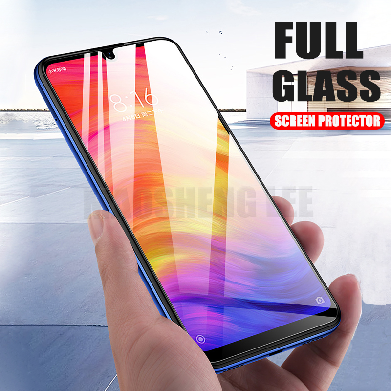 2Pcs/lot Tempered Glass For Xiaomi Redmi Note 7 6 Pro Note 5 Glass Screen Protector Anti Blu ray Glass For Xiaomi Redmi note 7-in Phone Screen Protectors from Cellphones & Telecommunications on