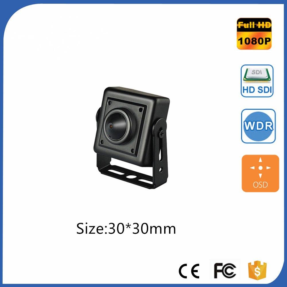 Spyeye Square Shaped Sdi Mini Camera Super Small 30x30mm 1/2.8 Progressive-Scan CMOS 1080P Full HD SDI Mini Camera With OSD Menu 34 34mm minature size 2 8 12mm lens panasonic 1080p full hd super mini hd sdi camera with osd menu cvbs