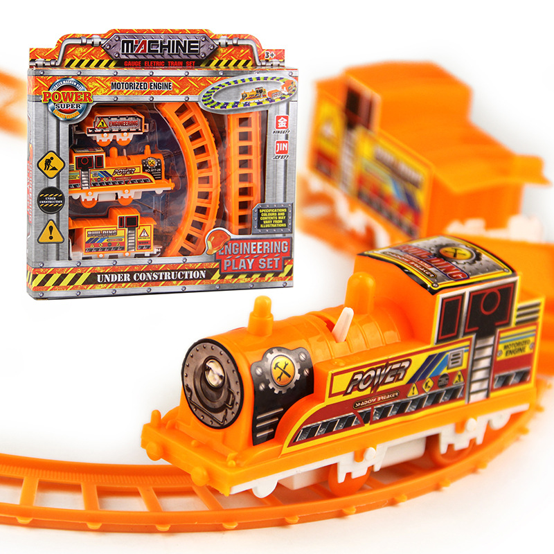 4 Styles Electric Thomas Train Track Rail Car Race Car Toy Roller Coaster Kids Toys Gifts