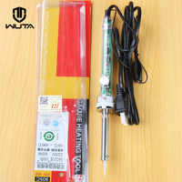 220V 60W US Plug Electrical Soldering Iron Adjustable Temperature for Leather Craft Handheld Hot Stamping Embossed LOGO & Brand