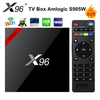 X96 2GB 16GB Amlogic S905X Quad Core Android 6 0 Marshmallow TV Box WIFI HDMI 2