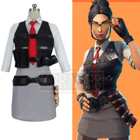 Game Battle Royale Season 5 Detective Rook Halloween Cosplay Costume Custom Made Any Size