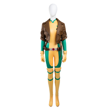2016 New Fashion X-Men Rogue Mary Cosplay Costume Deluxe Outfit Halloween Costumes for Women