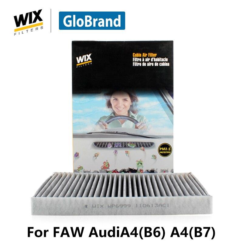 Wix содержащий карбон кабины фильтр WP6999 для FAW AudiA4 (B6) 1.8 т A4 (B7) 1.8 т автоз ...