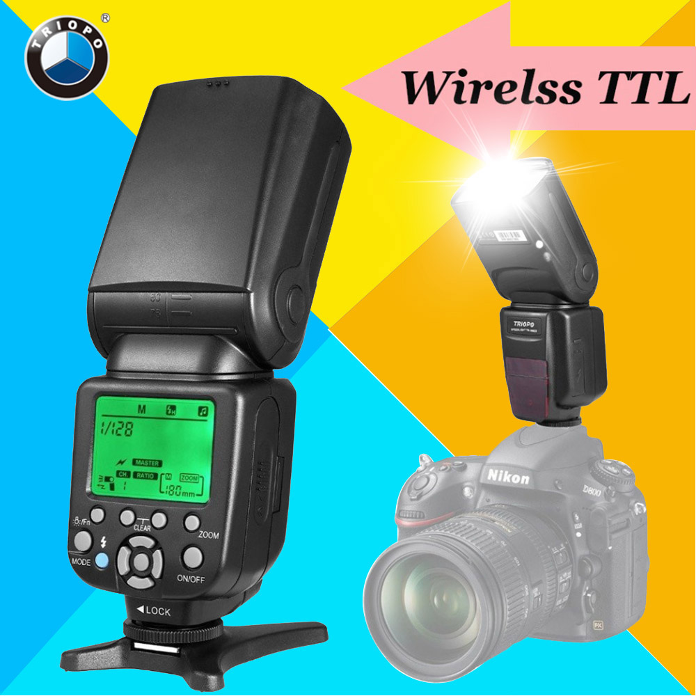 TRIOPO TR-586EX Wireless TTL Flash Speedlite Speedlight For Nikon d5300 d7200 d90Vs YONGNUO YN565EX YN-565EX YN-560 IV YN560 III elemax sh 5300 ex r