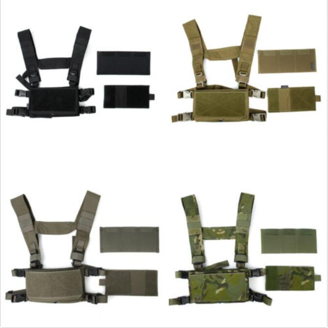 TMC Lightweight Tactical Vest Modular Chest Rig Set B