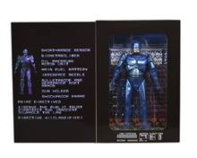 "NECA Robocop Clássico 1987 Video Game Aparência PVC Action Figure Collectible Modelo Toy 7 ""18 cm KT3129(China)"