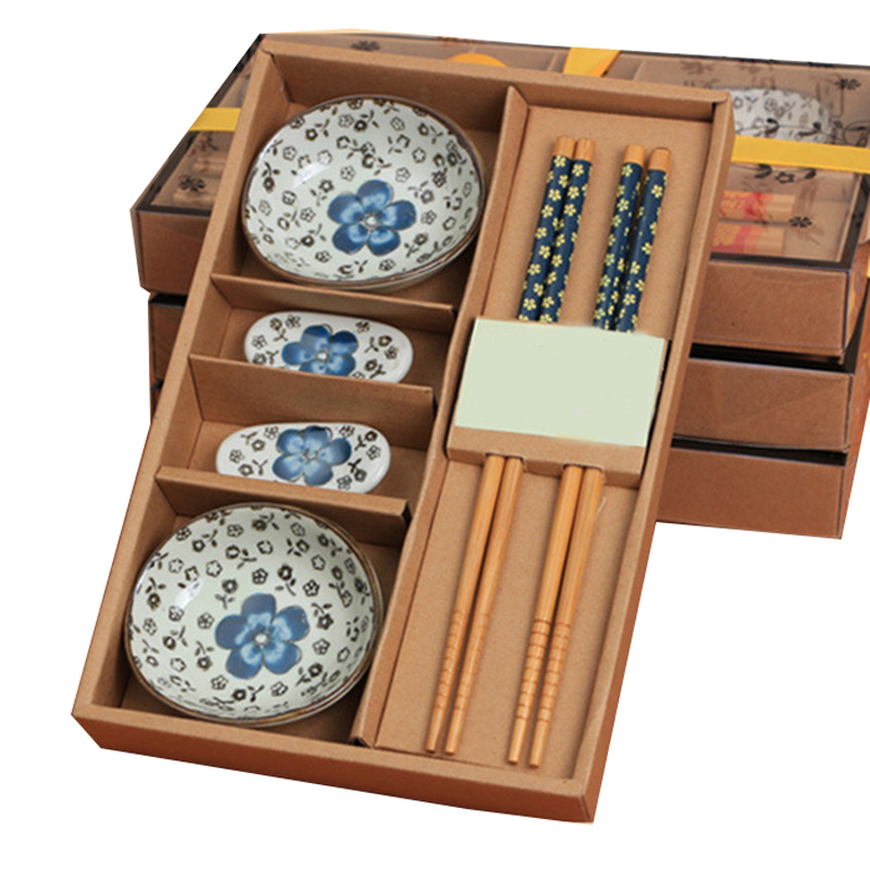 Wholesale Dinnerware Sets ,Japanese Tableware Set Ceramics Sushi Saucer Set  For Two In Gift Box 460555 In Dinnerware Sets From Home U0026 Garden On ...