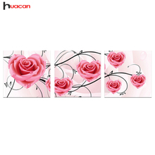 Rose Pattern Diamond Painting