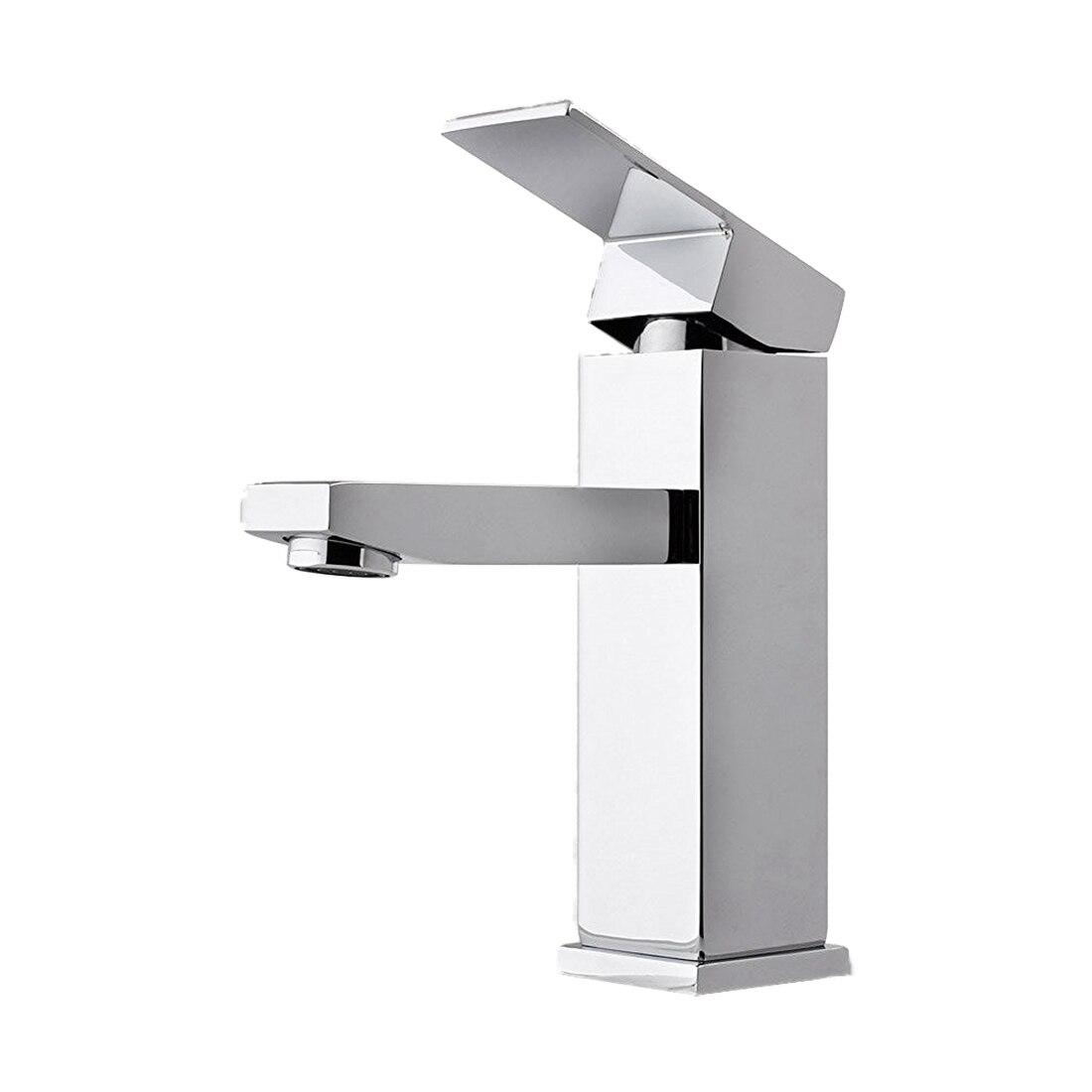 Faucet of lavatory faucet sink faucet square chrome