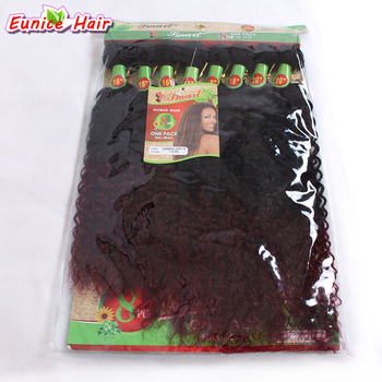Ombre 16-20inch 8pcs/lot Unprocessed Long Curly Hair Bundles Ombre Burgundy Brazilian Jerry Curl Black Women Hairstyle куртка ombre ombre mp002xm23yn7