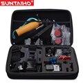 Suntaiho s/m/l tamanho do saco da câmera gopro para gopro hero 4 3 3 + sj4000 sj5000 para xiaomi yi ação acessórios da câmera