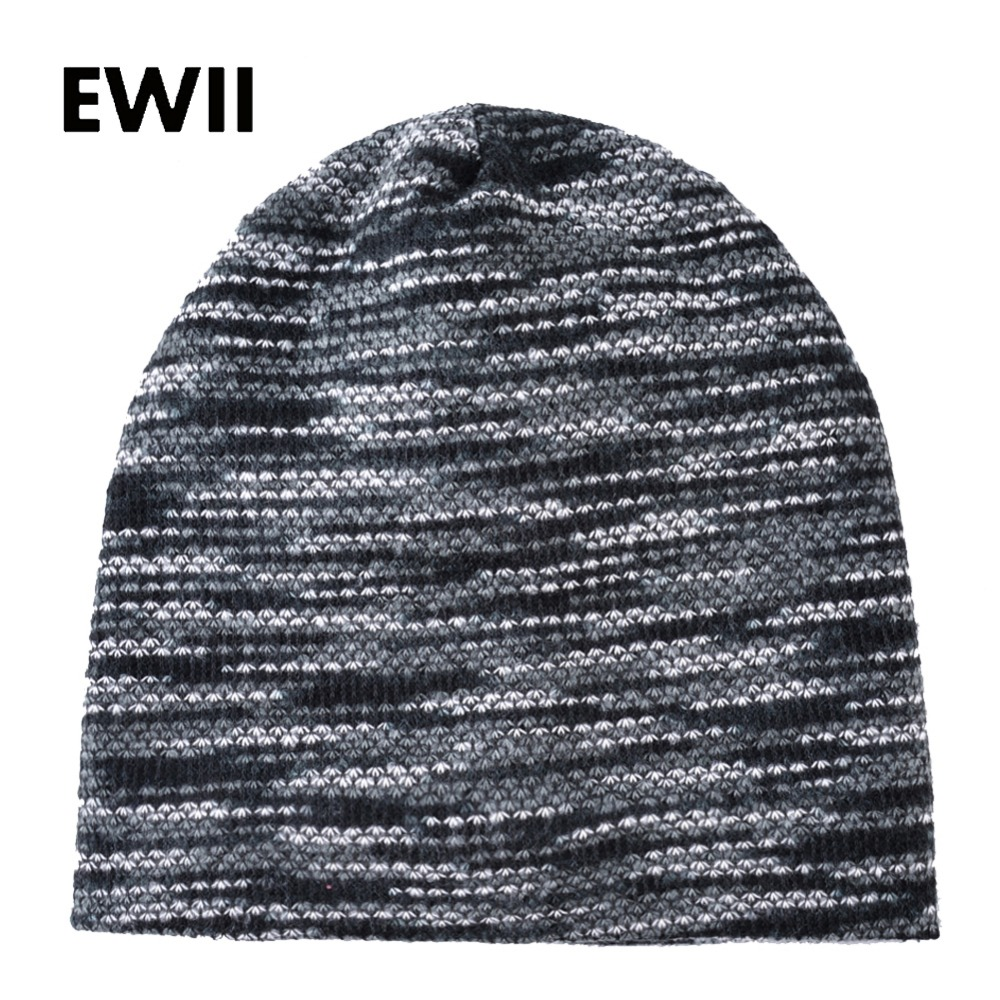 Autumn knitted winter cap men knit brand hat slouchy  beanie caps women skullies bonnet men fashion beanies hats bone feminin 1 pcs autumn winter hot sell knitted cap brand skullies beanies hats for men caps 4 colors 8514