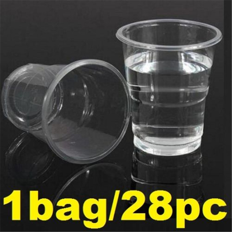 FD4588 new Home Clear Plastic Disposable Drink Cups New ...