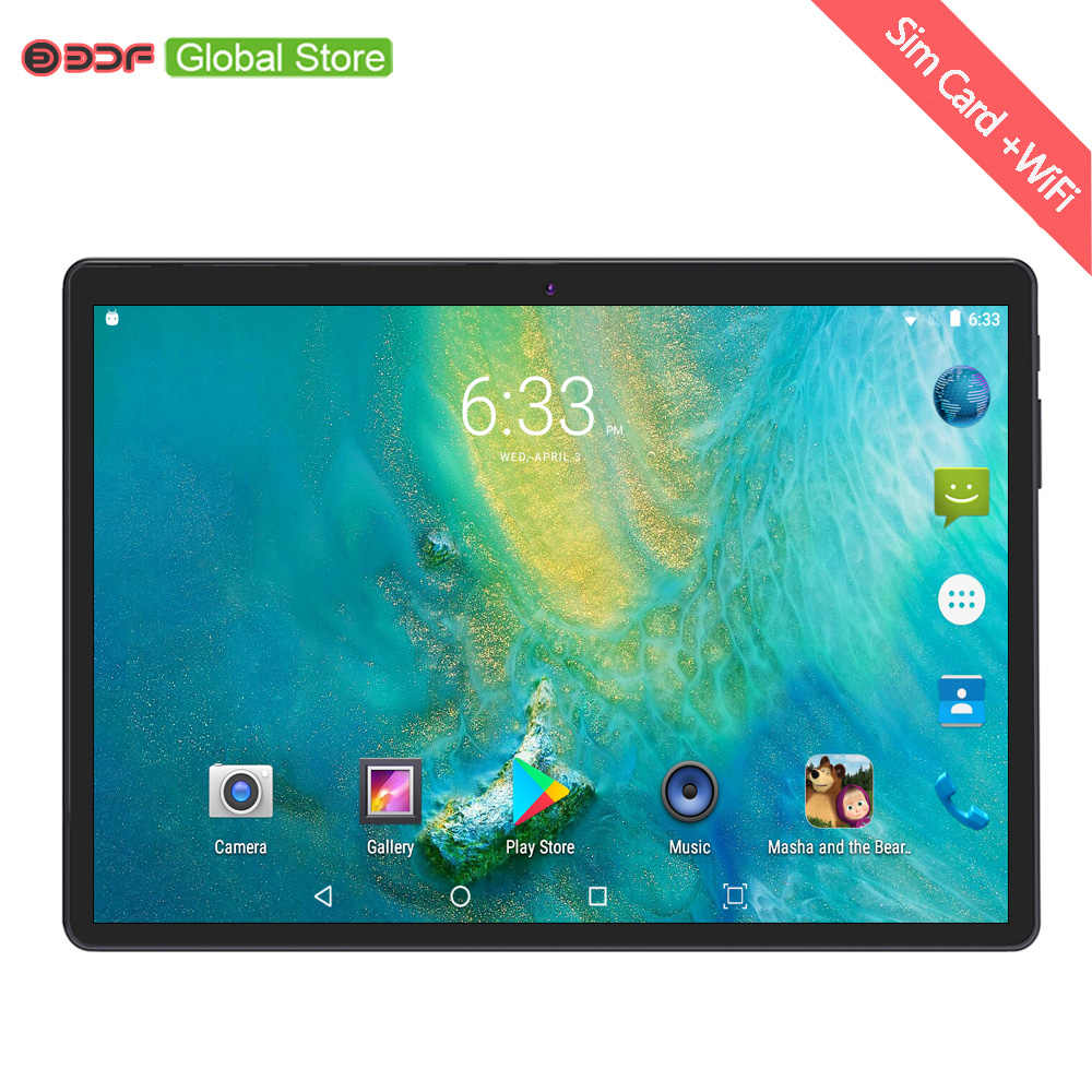 2019 Russian Moscow Warehouse Ships 10.1 Inch 3g Mobile Sim Card Phone Call Android 7.0 Tablet Pc 4GB+64GB Octa Core Tablets Pc