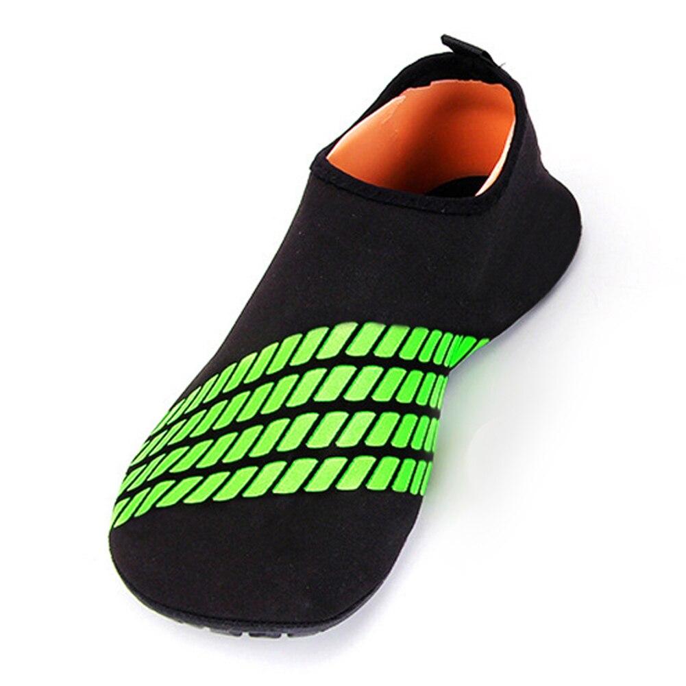 ffa445059f9f4a Green Blue Adult Slip Neoprene Men Women Surf Aqua Beach Water Socks Shoes  Sport Yoga Swim Diving Water Sport Shoes M 3XL-in Swimming Fins from Sports  ...
