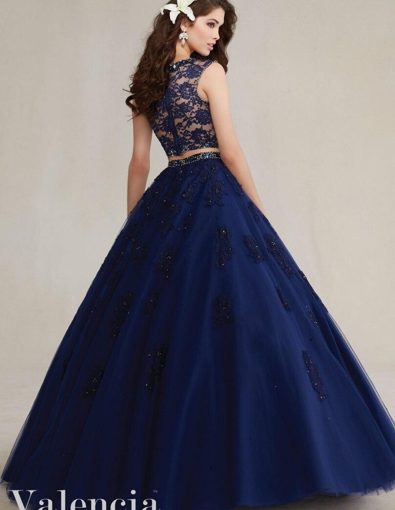 2 Piece Quinceanera Dresses Cheap Gowns Long Sweet 16 Princess ...