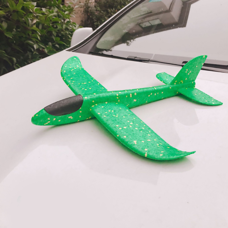 Throwing Foam 48cm Planes Toy Model Wings Rc Airplane Radio Controlled Aircraft Avion Glider Uav Toy Glider Toy Rc Planes Foam image