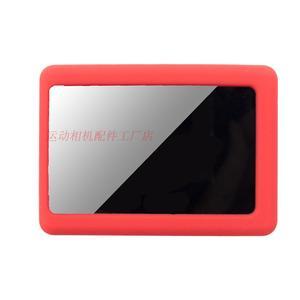 Image 4 - Clownfish Soft Silicone Camera Protective Case Bag Frame for C30 SJCAM SJ4000/SJ5000 SJ7000 EKEN H9 Lens Cap lens Cover Sport