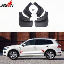 Для Volkswagen Touareg R Line 2012- автомобильные передние и задние брызговики Брызговики, брызговики, защита от пыли, 4 шт