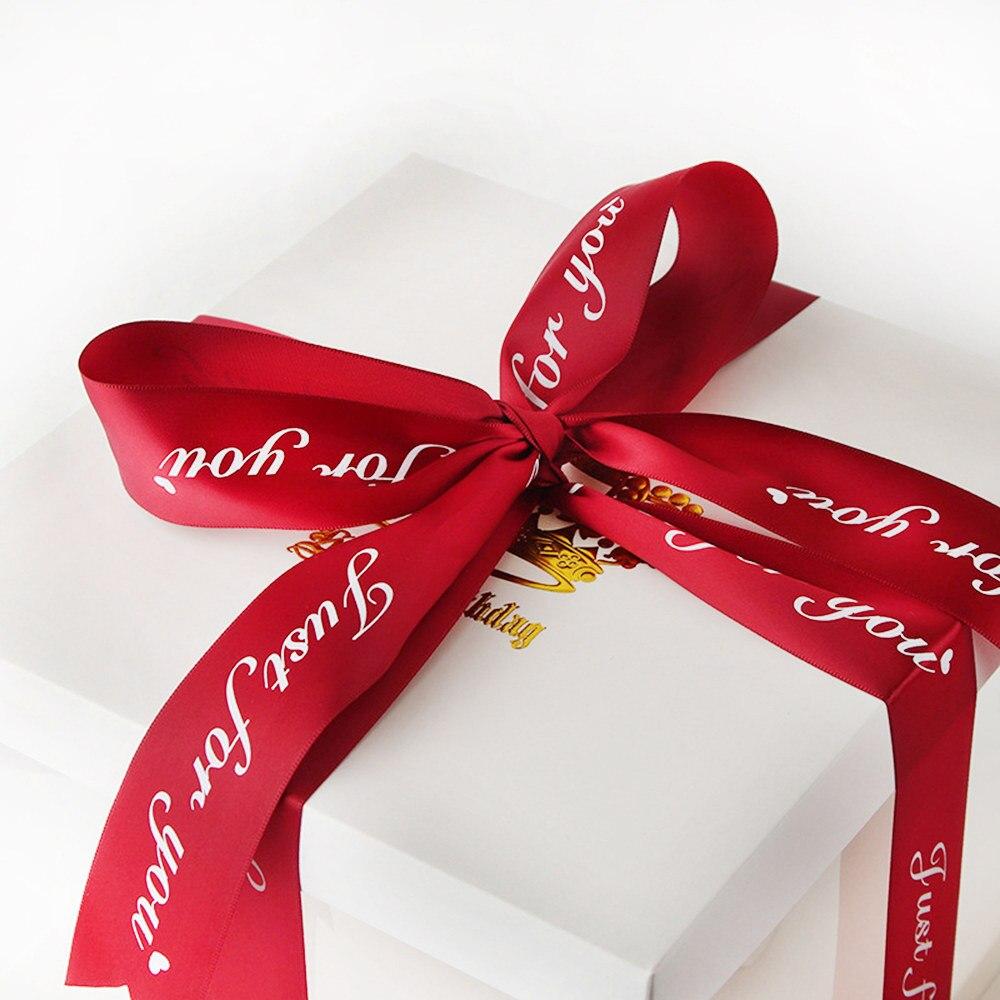 1 Rollo Solo Para Ti Cinta de Embalaje de regalo impreso para Boda Fiesta Decoración