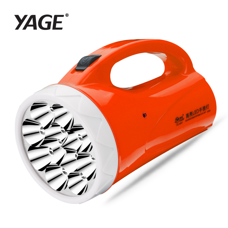 Yage levou holofotes holofotes portátil lanterna de acampamento yg-3501 holofote holofotes portátil handheld holofotes lâmpada luz da noite