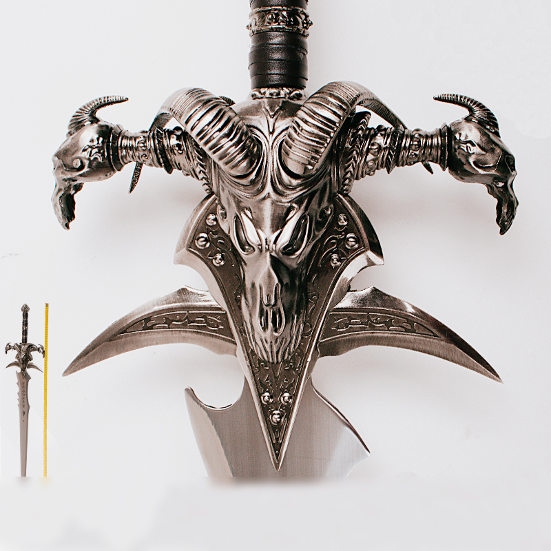 WOW Arthas Menethil sword Frostmourne Alloy casting cool Craft Be a gift Adult toys 108cm 120cm
