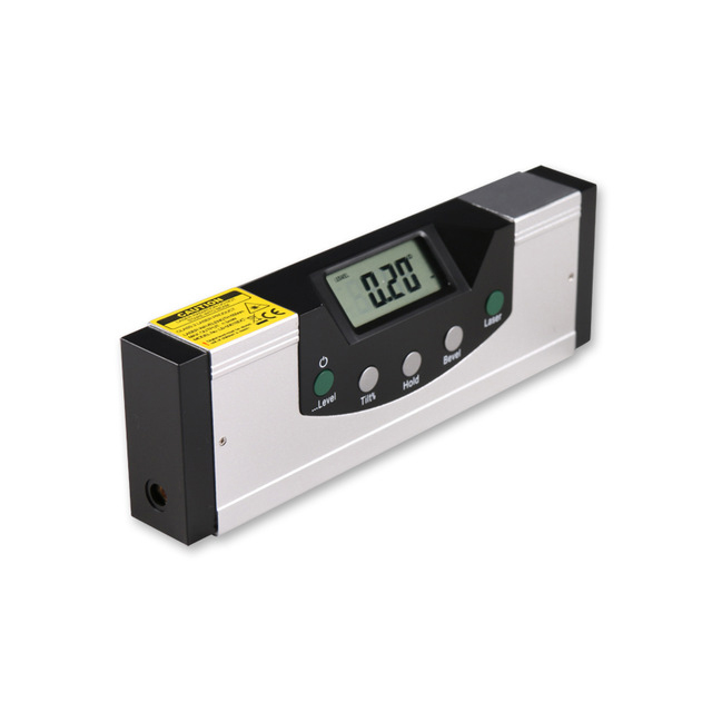 EM5416-150 High Quality LCD Multipurpose Level Laser Horizon Vertical Measure Tape The Horizontal Ruler Measure tool free delivery level 24 in lightweight hard plastic 3 bubble triple ruler measure tool