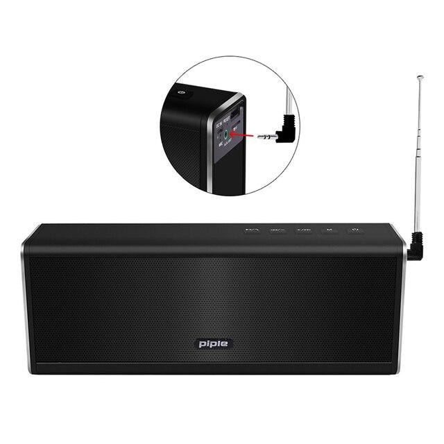 Portátil HIFI inalámbrico estéreo Super Bass Caixa caja de sonido manos libres para teléfono banco de energía 20 W 4000 mah Radio FM s5 Altavoz bluetooth