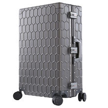 SEABIRD High quality 202629inch 100% Aluminum Magnesium Alloy Trolley Suitcase spinner luggage Large Metal Travel Rolling Bag travel tale 20 24 inches abs pc cartoon lovely rolling luggage customs lock spinner brand travel suitcase