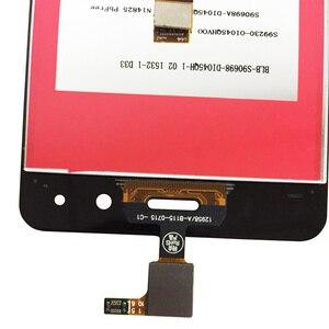 Image 4 - 4.5 بوصة ل BQ Aquaris M4.5 شاشة إل سي دي باللمس شاشة الجمعية اكسسوارات الزجاج لوحة ل Aquaris M4.5 إصلاح لوحة اللمس عدة