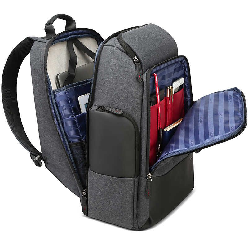 BOPAI 2019 الرجال حقيبة السفر الكبيرة عطلة نهاية الأسبوع السفر على ظهره حقيبة كبيرة الذكور مقاوم للماء 17 بوصة محمول على ظهره المرأة الظهر حزمة