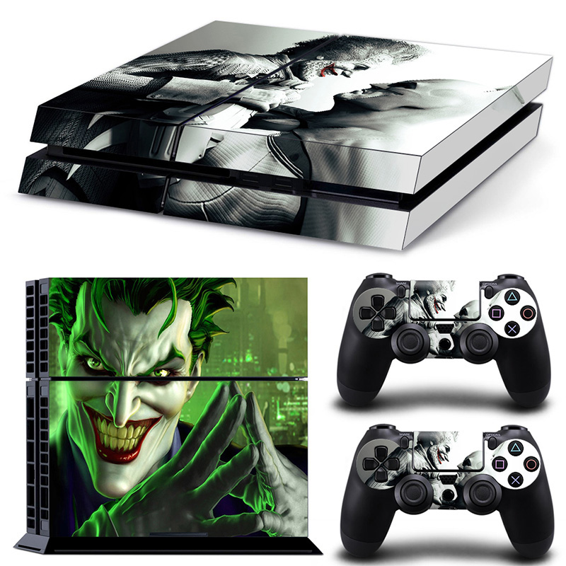 Game Accessories Batman Design PS4 Skin Sticker Vinyl Decal For Sony Playstation 4 PS 4 Console & Controllers