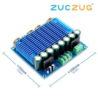 Ultra High Power Digital Amplifier Module AC 24V Stereo TDA8954TH Dual Chip 2x420W XH M252 Digital Power Amplifier Board