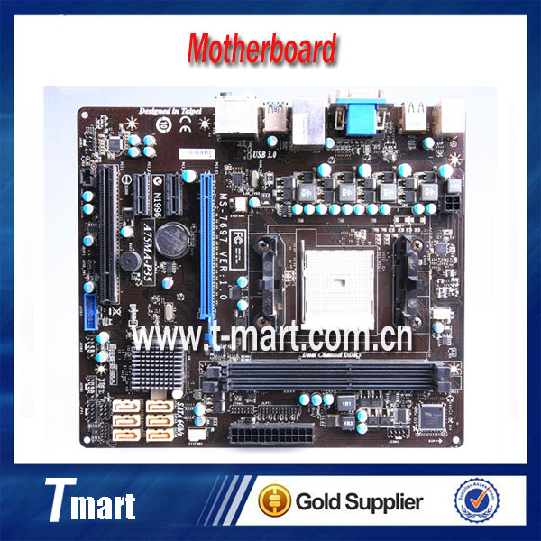 100% Working Desktop Motherboard for A75MA-P35 Fully tested Working perfect