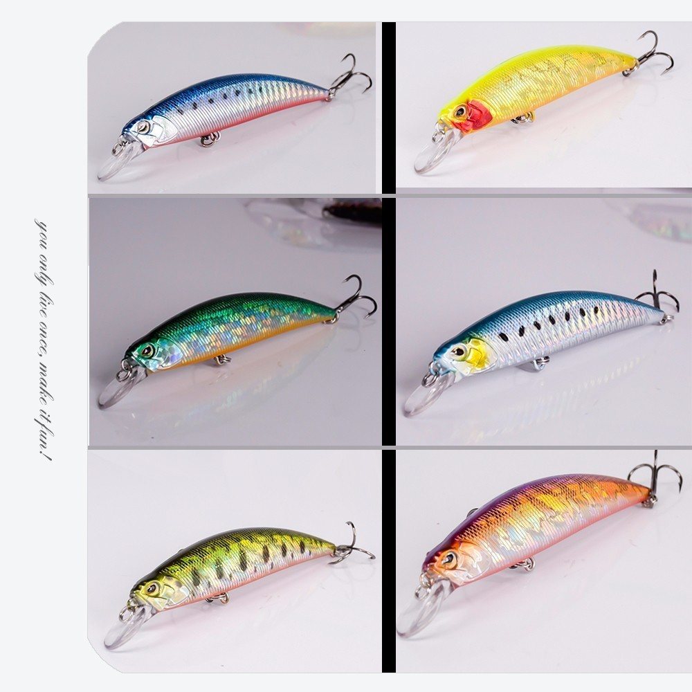 Image 5 - 2018 New Crankbait Wobblers Hard Bait 9.5cm/15g Fishing Lures Minnow For Bass Pike Perch Camping Fake Isca Artificial Jerkbait-in Fishing Lures from Sports & Entertainment