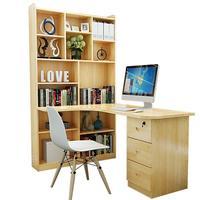 Поднос Tafel Escritorio De Oficina Scrivania Ufficio офисная мебель винтажный деревянный ноутбук Меса прикроватный стол с книжной полкой