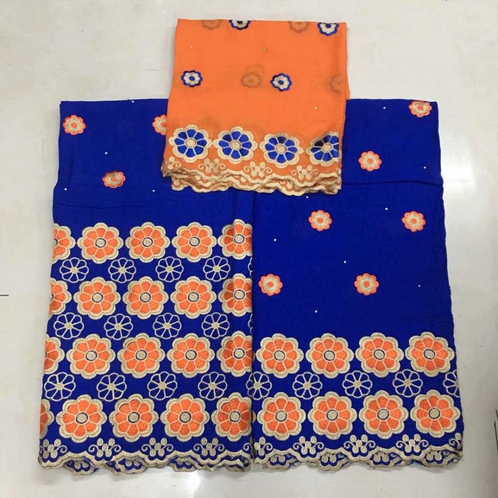 5 + 2 야드 블루 아프리카 스위스 voile 레이스 웨딩 여성 드레스 고품질 목화 자 수 스위스 voile 끈 스위스 ycs-에서레이스부터 홈 & 가든 의  그룹 1