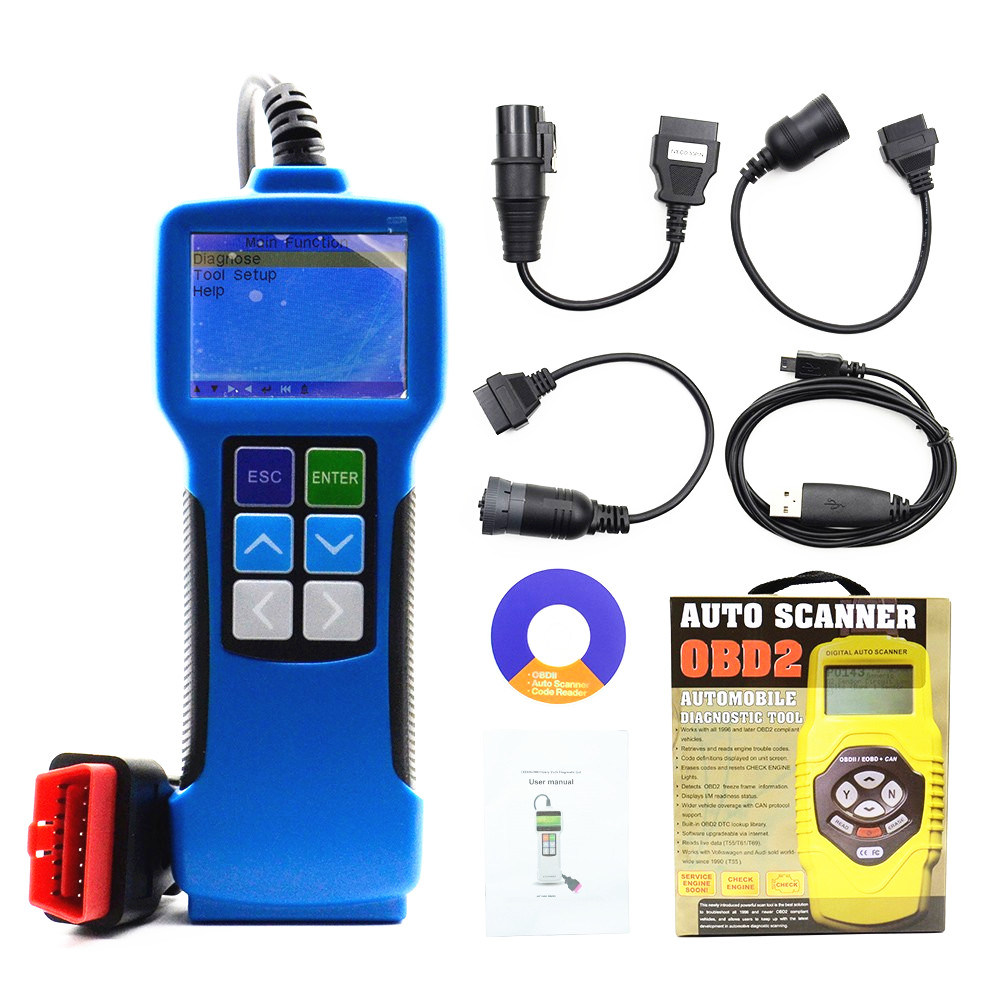 Truck Diagnostic Tool T71 Universal Diesel Heavy Duty Code Reader V24 For Bus and Heavy Truck Diagnostic Scanner Tool  цены