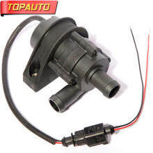 TopAuto 12V/24V Electronic Pump For Auto Engine Preheater Water Tank Brushless Antifreeze Pompe Car Boat Truck Warm Heaters(China)