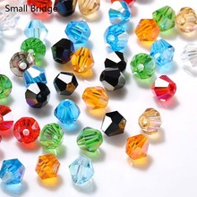 3mm Loose Mixed Color Bicone Crystal Beads  For Jewelry Making Bracelet Beadwork Czech Glass Acessories Wholesale