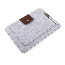 Sleeve Bag Case Universal Wool Felt Fabric Tablet Cover for ipad 2018 10.5 11 12.9 air 1 mini huawei Samsung MIpad 4 Pouch Capa